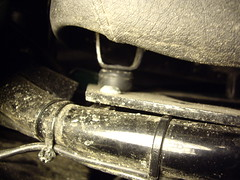 17mm bolt holding front of seat