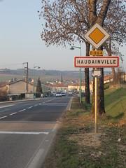 Entrée sud d'Haudainville