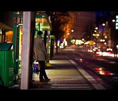The Man and the Street photo by -Canonist-