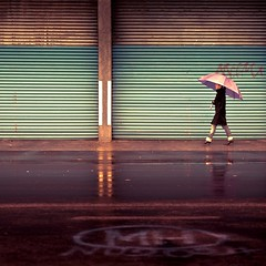 Rain / Umbrella / Lightroom Preset photo by ►CubaGallery