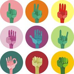 pop art hands photo by kucherenko.anastasiia