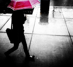 Pink umbrella photo by stephieseye