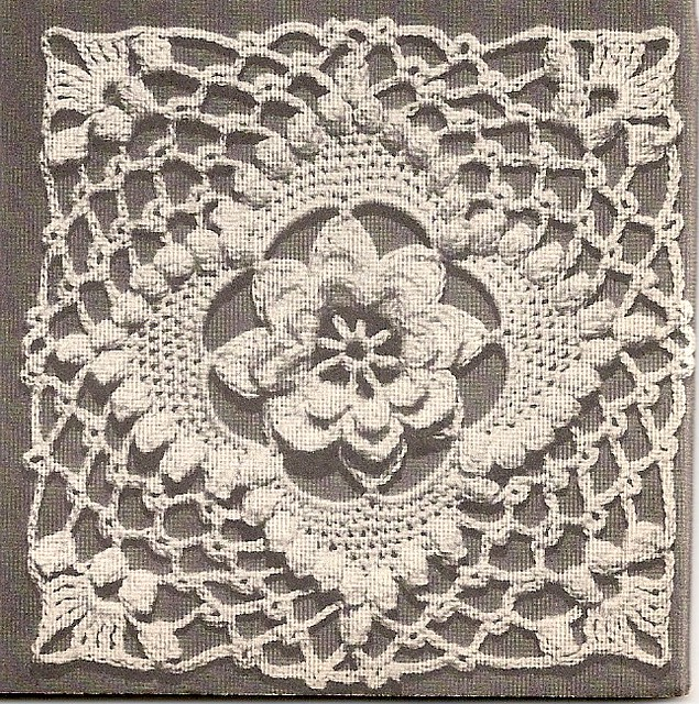 Alice Brooks Filet Crochet THE LAST SUPPER Pattern