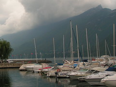 Lac du Bourget et gros nuages ! photo by Kaeru Sand