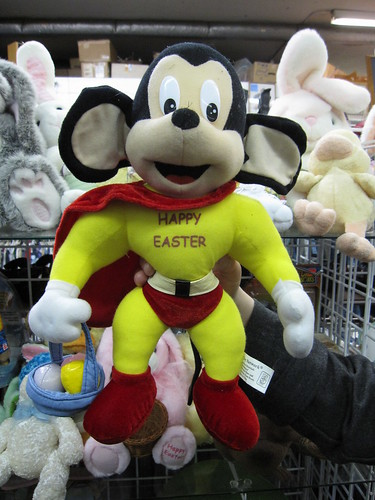mighty mouse wishes you a happy easter!