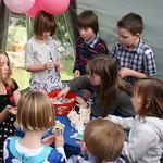 The children doing activity<br/>14 Mar 2010