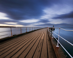 The Magic Hour (Whitby Pier) photo by Tom Stamp | Photography