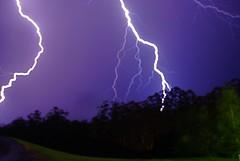 lightning storm at Neerim East photo by rob's lensonlife