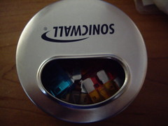 mint tin filled with spare fuses