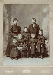 1905. My great-grandparents with their children photo by elinor04