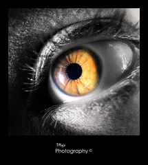 Vampire (The color is indeed) My eye photo by Majo´s Photos