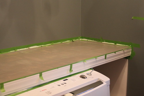 laundry room counter how-to