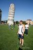 Skakkiturninn í Pisa - Ítalía