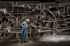 Iron Curtain: Locomotive # 3751 photo by Eric Curry