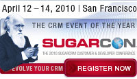 SugarCon Apr 12-14, 2010
