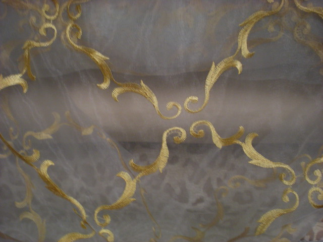 Beaded Fabric Manufacturers, Wedding Gown Embroidery, Beaded