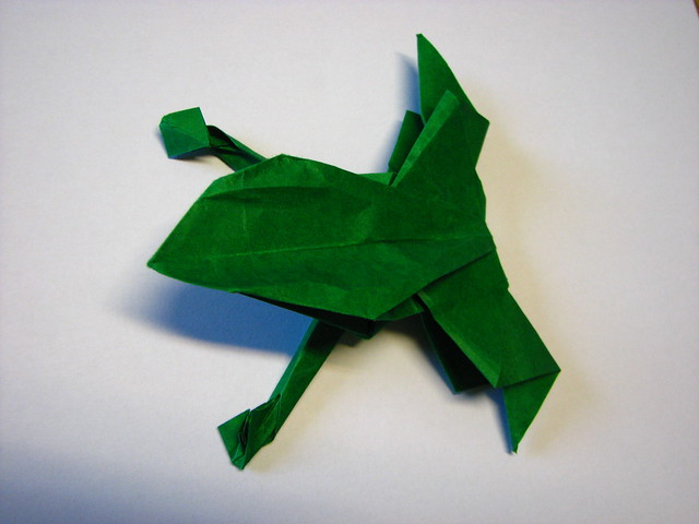 origami paper frog 171 embroidery amp origami