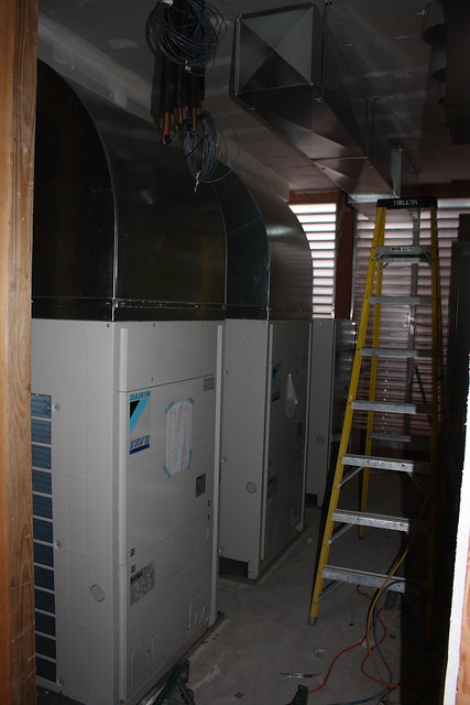 A heat pump is a machine or device that diverts heat from one location (the 'source') at a lower temperature to another location (the 'sink' or 'heat sink') at a
