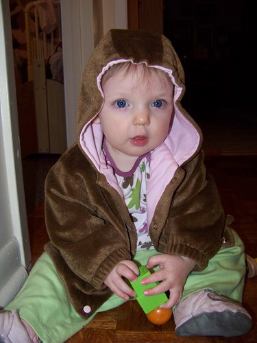 Laura in the Teddy Bear Jacket