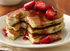Cheesecake Pancakes photo by Betty Crocker Recipes