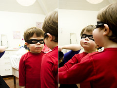 61/365. When a superhero sees himself photo by Gudrun Vald