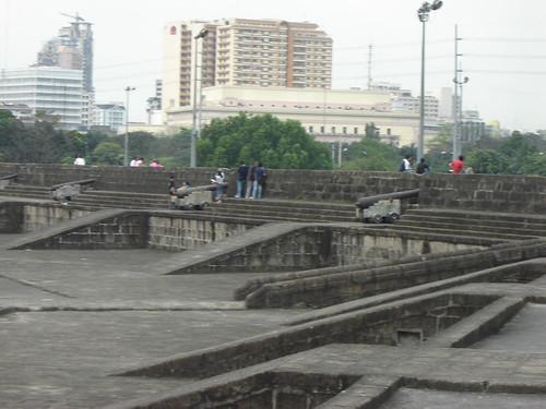 Intramuros walls