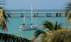 Calypso Gypsy anchored at Bahia Honda Key