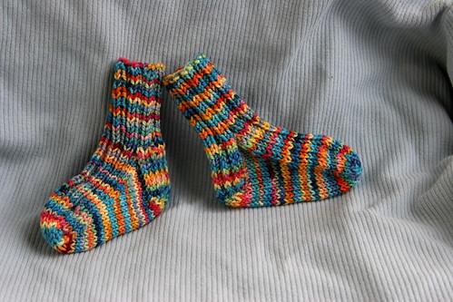 cute little socks - side view