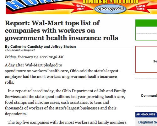 Walmart Ohio News Story #1