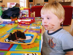 Callum likes Cake too