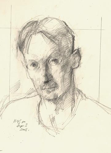 Self Portrait 3 Sep 2005