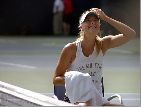 Maria Sharapova photo by *istD