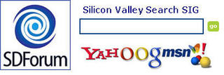 SDForum Silicon Valley Search SIG