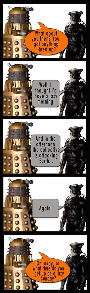 Dalek and Borg Sunday2