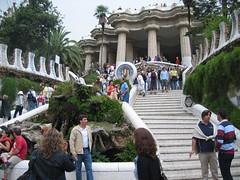 Parc Guell, Entrance