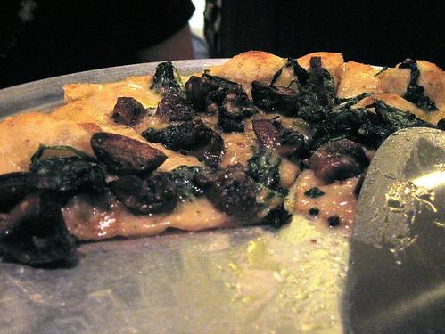 Funghi and Taleggio Pizza