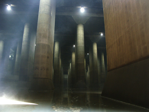 underground floods measures facilities.