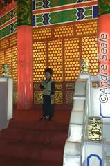 Criança no Temple of Heaven