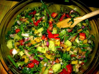 Lulu Loves Manhattan Jamie S Favorite American Chopped Salad