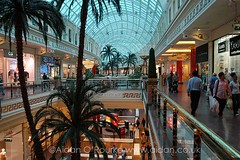 Dalam Trafford Centre, Manchester, UK