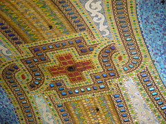 Tiffany Ceiling, detail