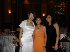 Monash Ball 2005 Flame and Frost - Me, Hooi Ming and Su Li