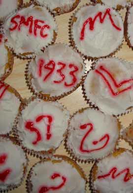 Swannies cupcakes
