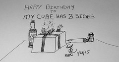 Happy Birthday to My Cube
