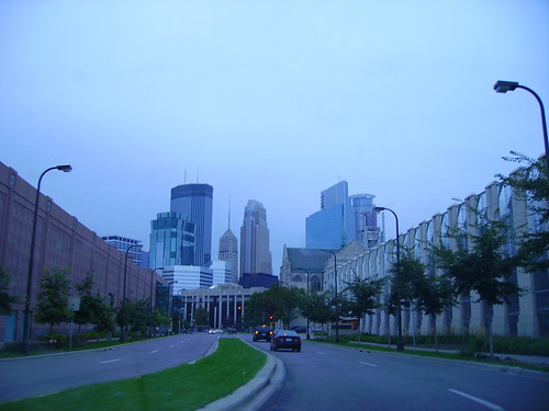 Minneapolis Skyline (gray)