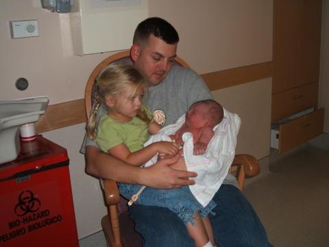 Sydney, Dad, and Gavin