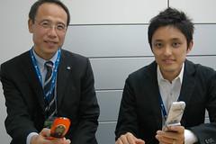 Mr. Morishita & Mr Ishibashi, weathernews inc. 4