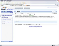 Google Reader for RSS feeds