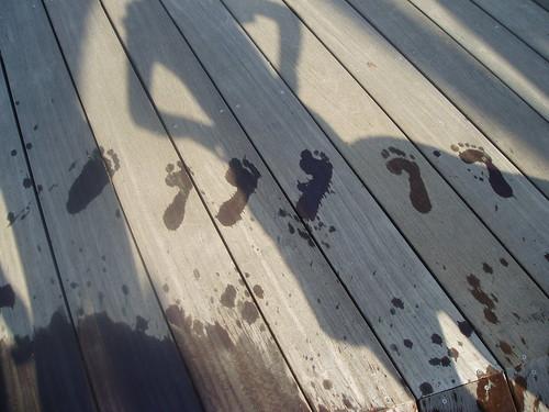 footprints :D