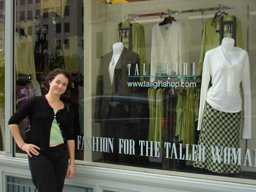 Tall girl shop